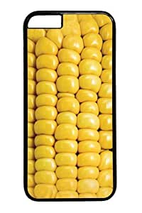 Case For Iphone 6 Plus (5.5 Inch) Cover Case,Corn on the Cob PC Hard Plastic Case For Iphone 6 Plus (5.5 Inch) Cover Black