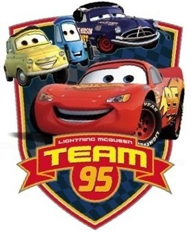graphic relating to Lightning Mcqueen Printable Decals named : Disney 4 Inch Employees 95 Lightning McQueen Wall