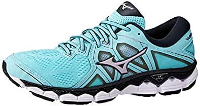Mizuno Australia Women's Wave Sky 2 Running Shoes, Angel Blue/Lavender Frost/Black, 6.5 US