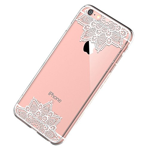 Price comparison product image iPhone 6S 6 Case,iPhone6 6s Cover Crystal Clear Case [Shock Absorption] Anti-Scratch Slim Back For Apple iPhone 6s and iPhone 6 (5, iPhone 6S 6)