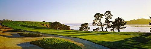 Posterazzi Golf Course Pebble Beach Monterey County California USA Poster Print (27 x 9)