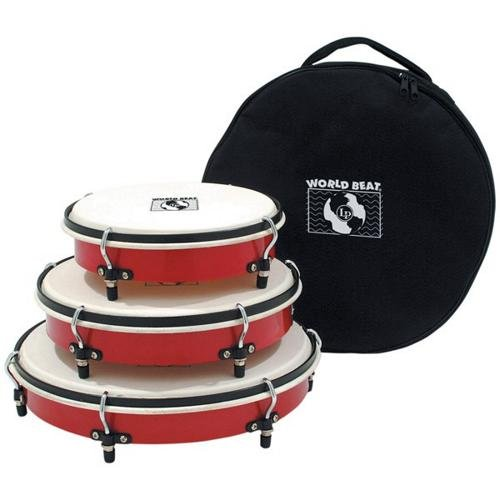 (Latin Percussion WB505 Hand Drum Red)