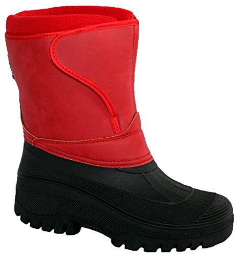 SHOWERPROOF WINTER RIDING YARD RAIN LADIES SKI WARM NEW HORSE STABLE MUCKER Red SNOW BOOTS FARM WALKING 4xnqIEwzEa