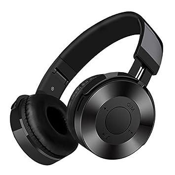 Auriculares Bluetooth, BT4.2 auriculares inalámbricos / FM, plegables, protectores de memoria
