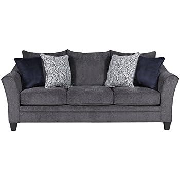 Amazon Com Simmons Upholstery 8530br 03 Bellamy Slate
