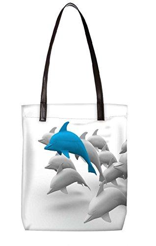 Snoogg Strandtasche, mehrfarbig (mehrfarbig) - LTR-BL-3703-ToteBag