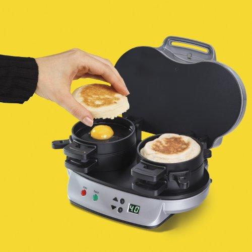 040094254903 - Hamilton Beach 25490 Dual Breakfast Sandwich Maker carousel main 4