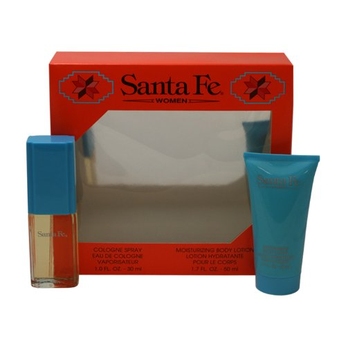 Santa Fe by Aladdin Fragrances Gift Set -- 1 oz Cologne Spra