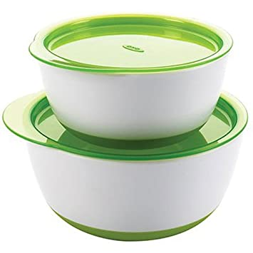 Cups, Dishes & Utensils Green Eats Baby Utensil And Snack Bowls Bowls & Plates