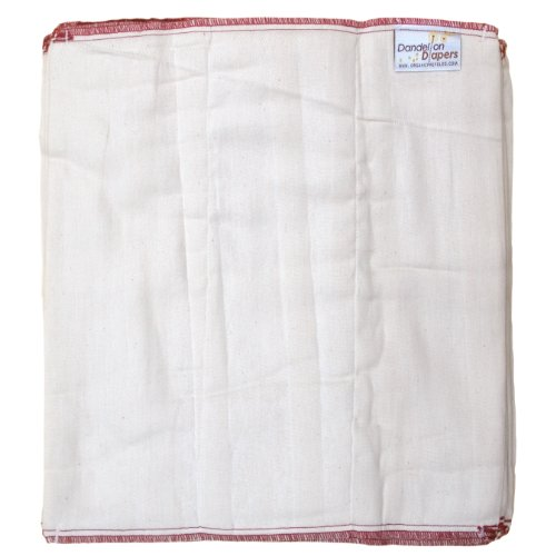 Dandelion Diapers Organic Prefolds Pinless product image