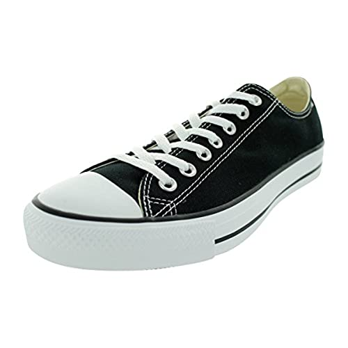 f87c3ce11925 ... where to buy converse unisex chuck taylor all star low top black  sneakers 9 men 11
