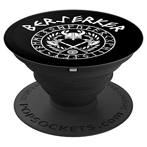 (Nordic Viking Berserker - PopSockets Grip and Stand for Phones and Tablets )