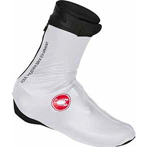 Castelli 2016/17 Pioggia 3 Radfahren Shoecover - S16539 Weiß