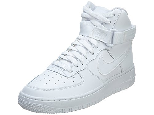 Nike AIR FORCE 1 HIGH  boys basketball-shoes 653998-100_5.5Y