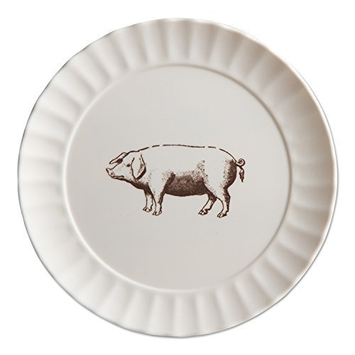 TAG - Farm Fresh Melamine Salad Plate, Set of 4 (206193) -