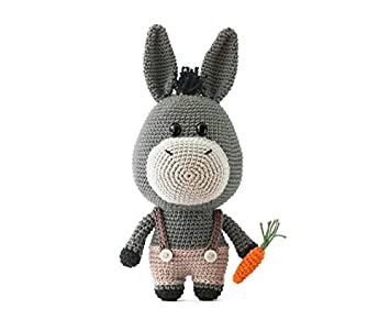 Bitsy, the baby in donkey suit pattern by Ami Fan - Ravelry | 301x355
