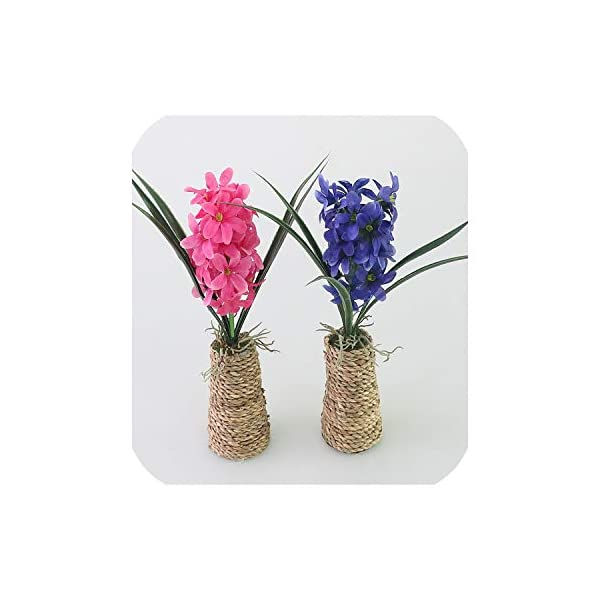 Maja Shop Mini Hyacinth Artificial Flower Silk Flower