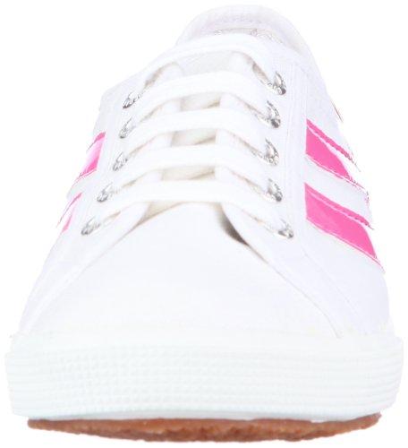 Superga 2951-COTU S003740, Damen Sneaker Pink (White-Fuxia 978)