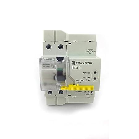 Circutor Rec3 Differential Switch U2013 Autorrearmable Rec3 U2013 2P 40 ...
