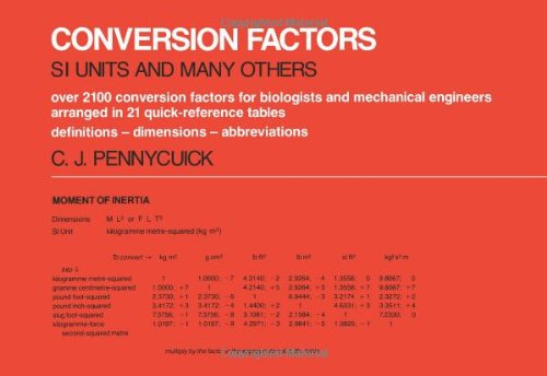 Conversion Factors: S.I.Units and Many Others