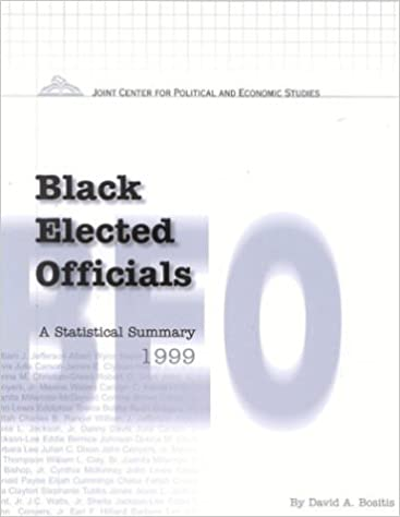 Black Elected Officials 1999: A Statistical Summary (Black Elected Officials a Statistical Summary)