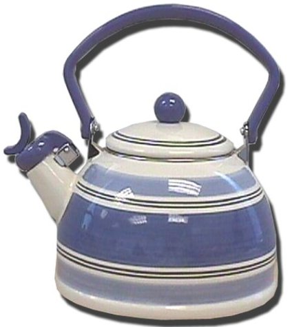 UPC 036588600561, Pfaltzgraff Rio 2.8--Quart Enamel on Steel Whistling Tea Kettle