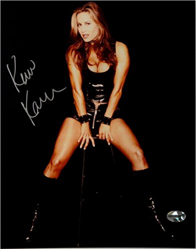 Kim Kanner Hand Signed Autographed 8x10 Photo Sexy In Black Shakira 23456 from Cardboard Legends Online