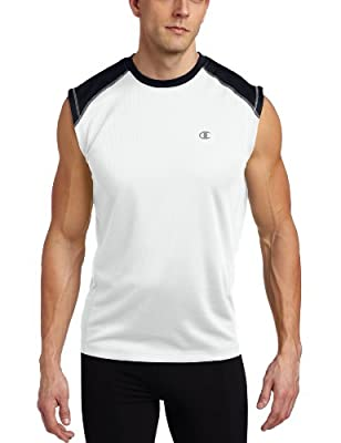 Champion Men's Double Dry Training Muscle Tee from Champion