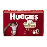Huggies Little Snugglers Baby Diapers, Size Preemie, 30 Count(Packaging May Vary)
