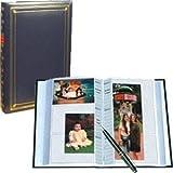 Pioneer Bi-Directional Post Style Memo Pocket Album, Navy Blue