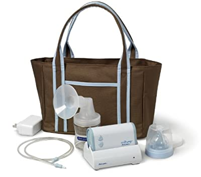 The First Years Breastflow Mipump Single Electric Breast Pump by TOMY