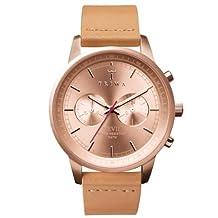 Triwa Womens NEST105 Rose Tan Nevil Rose Gold Dial Watch