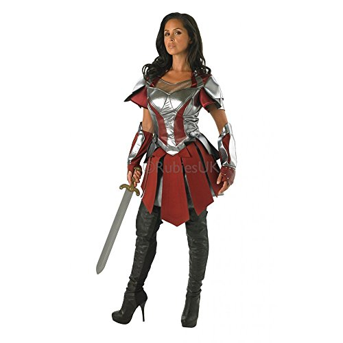 Lady Sif Costume Uk (Avengers ~ Sif (thor 2) - Adult Costume Lady: XS (uk:6-8))