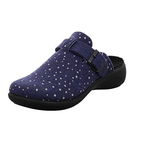 Blau Damen 540 Ibiza Pantoffeln Jeans Home 540 Romika 332 n1qHT8WXHA