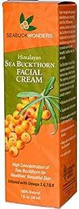 SeaBuckWonders Himalayan Sea Buckthorn Facial Cream 1 fl oz 30 ml