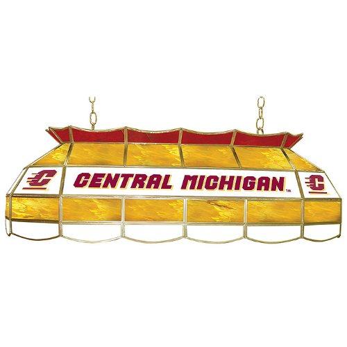 NCAA Central Michigan University Tiffany Gameroom Lamp, 40'' by Trademark Gameroom