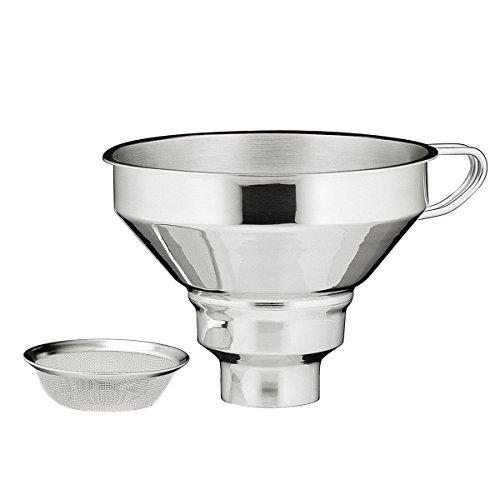 Kuechenprofi 18/10 Stainless Steel Funnel with Filter