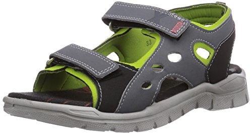 Toe Open Graphit 560 Miro Ricosta Boys Acido Sandals Grey qAx1wPUa