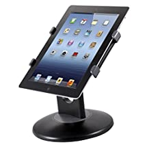 Kantek TS710 Tablet Stand for Apple iPad, Galaxy Tab, Kindle Fire, Xoom, Thrive and Other 7-10-Inch Tablets (Black)