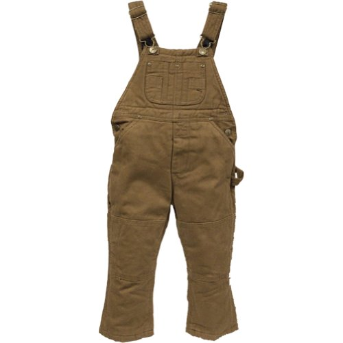 Polar King Little Boys Insulated Duck Bib Overall