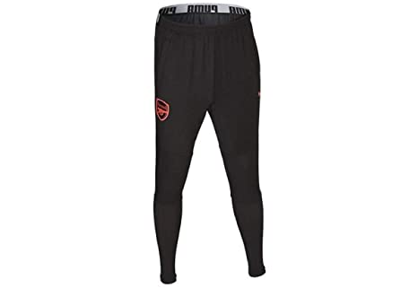 aa1ea4db Image Unavailable. Image not available for. Color: PUMA 2017-2018 Arsenal  Fitted Training Pants ...