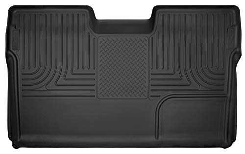 Husky Liners Fits 2009-14 Ford F-150 SuperCrew X-act Contour 2nd Seat Floor Mat (Full Coverage)