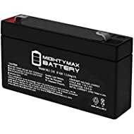 Mighty Max Battery ML1.3-6 - 6V 1.3AH SLA Battery - Mighty Max Brand Product