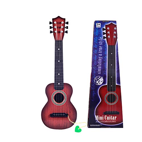 RuiyiF Kids Guitar, Toddler Toy Guitars for Boys Girls Age 3-5 Years Old 6 Steel String Acoustic Guitar Kids with Pick 21 Inch