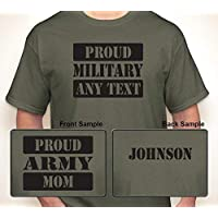 eba257e5d961 ... Funny Starbucks Tall Grande Shirts · $15.99. #23. PROUD MILITARY (OR  ANY BRANCH) (ANY TEXT) WITH (ANY NAME)
