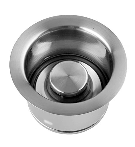 Jaclo 2823-VB Extra Deep Disposal Flange with Stopper, Vintage Bronze