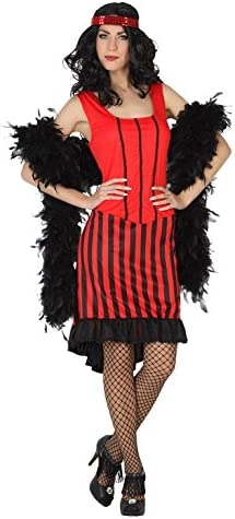 Atosa- Disfraz Mujer Cabaret, Color Rojo, M-L (5439): Amazon.es ...