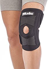 This knee stabilizer brace offers a soft neoprene blend that retains heat to help circulation and promote healing. The wraparound design is easy to put on and take off of the knee. Recommended for minor sprains, strains, and arthritic knee co...