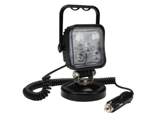 Projecteur Projo Chantier Spot Lampe Led 15w Magnetique 12v Prise