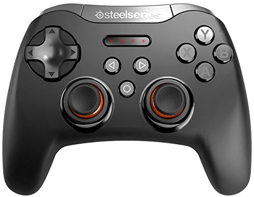 SteelSeries Stratus XL, Bluetooth Wireless Gaming Controller for Windows + Android, Samsung Gear VR, HTC Vive, and Oculus - Phone Stratus Headset